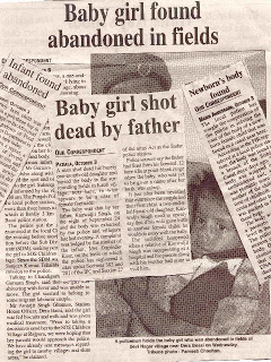 photo story female feticide and infanticide in  there are many reports of female infanticide that give insight into the cruelty of these murders this photo reveals reports of infants that have been shot